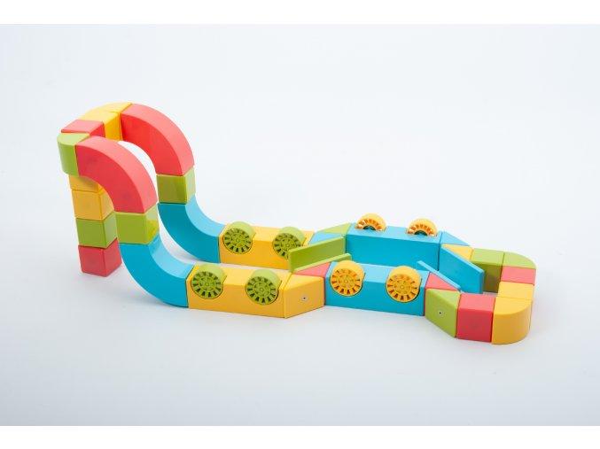 Magnetický set / Magnetic Block Set