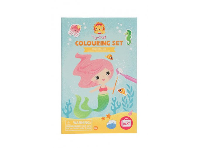 Colouring set/Mermaids