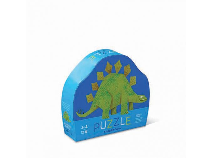 Puzzle mini - Stegosaurus (12 dílků) / Mini Puzzle - Stegosaurus