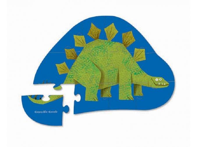 Puzzle mini - Stegosaurus (12 dílků)