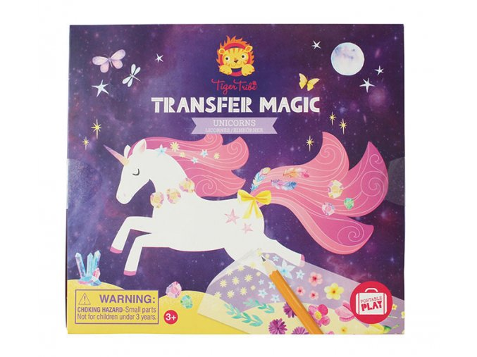 Kreativní sada - Magie přenosu - Jednorožci / Transfer Magic - Unicorns
