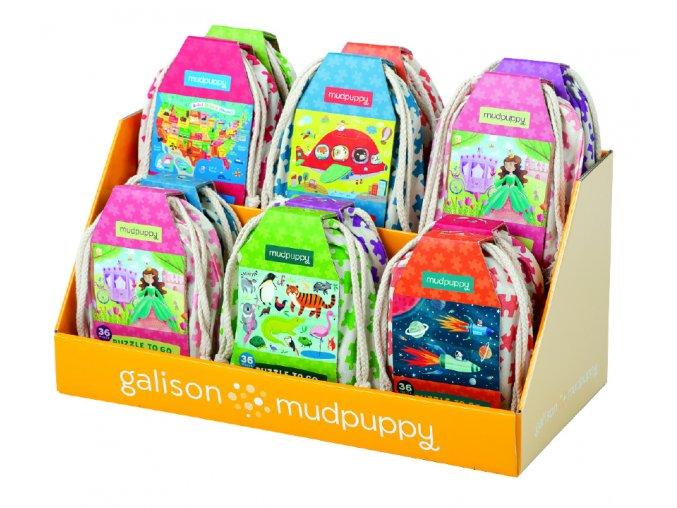 Puzzle na cesty - Mořské panny / Puzzle To Go - Mermaids (36 dílků)
