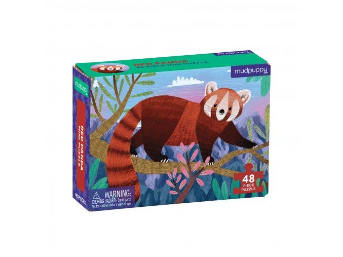 Mini puzzle - Červená panda / Puzzle Mini - Red Panda (48 dílků)
