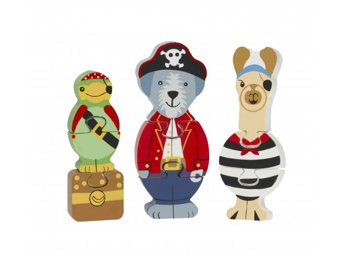 MINI PUZZLES ANIMAL PIRATE