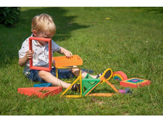 Duhový Architekt obdélník / Rainbow Architect Rectangles