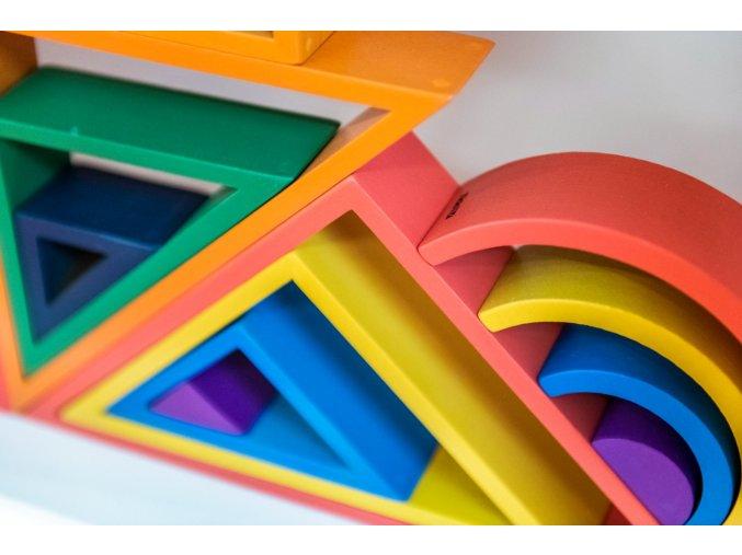 Duhový Architekt trojúhelník / Rainbow Architect Triangles