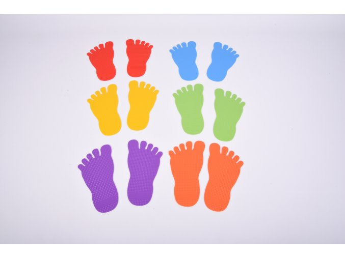 Nožičky - sada 6 párů / Foot Marks Set of 6 Pairs