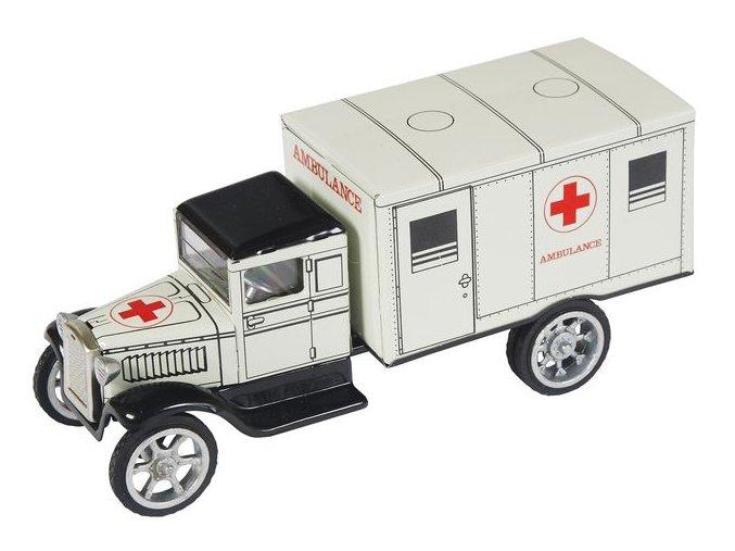 Hawkeye ambulance - bílá Kovap