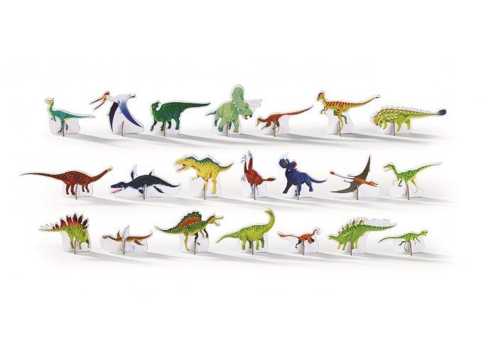Discovery Puzzle - Dinosauři (100 ks) / Discover Dinosaurs