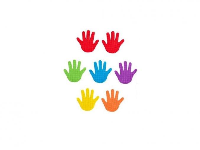 Ručičky - sada 6 párů / Hand marks set of 6 pairs
