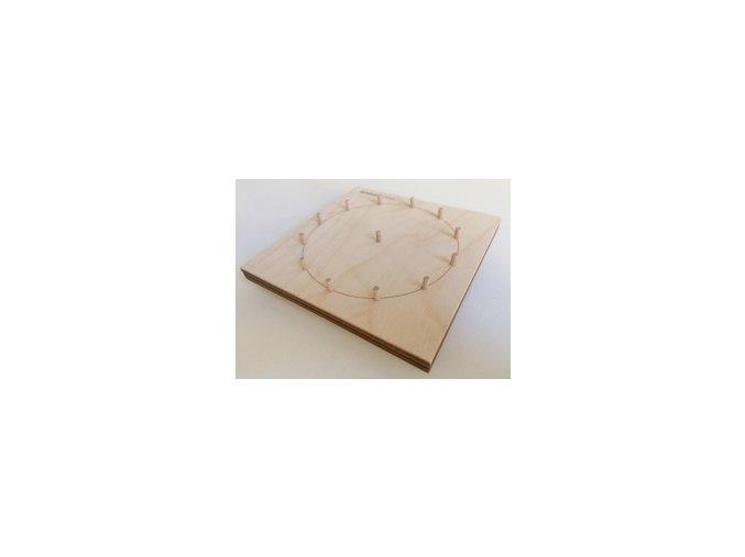Geobord oboustraný (3x3 plus ciferník)