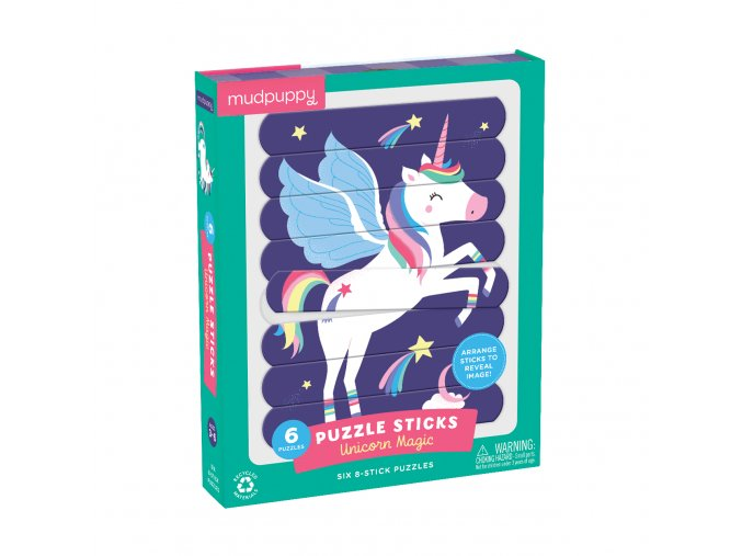 Puzzle Sticks - Unicorn Magic