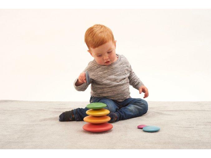 Duhové butony / Rainbow Buttons