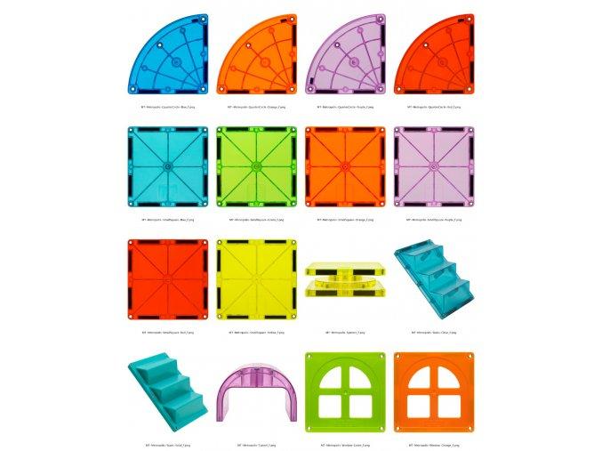 MagnaTiles CC Metropolis Angle f