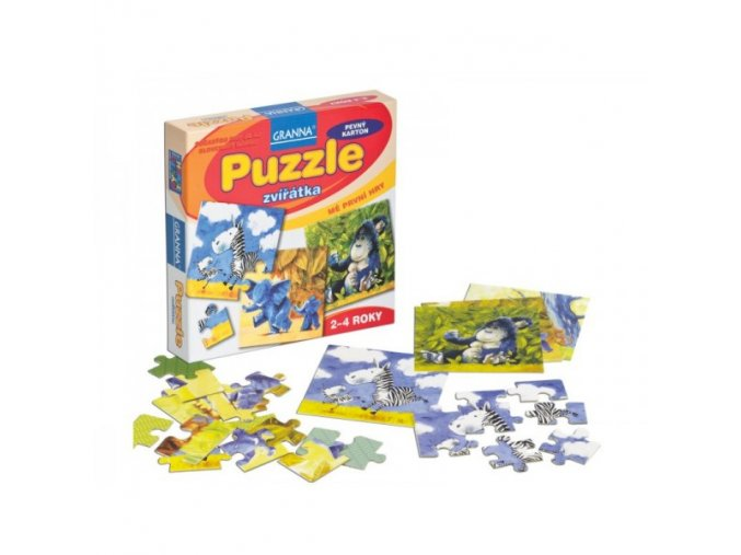 Puzzle zvířátka
