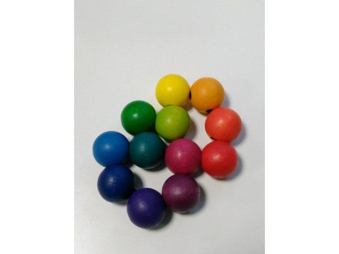 Barevné kuličky do ruky 25mm