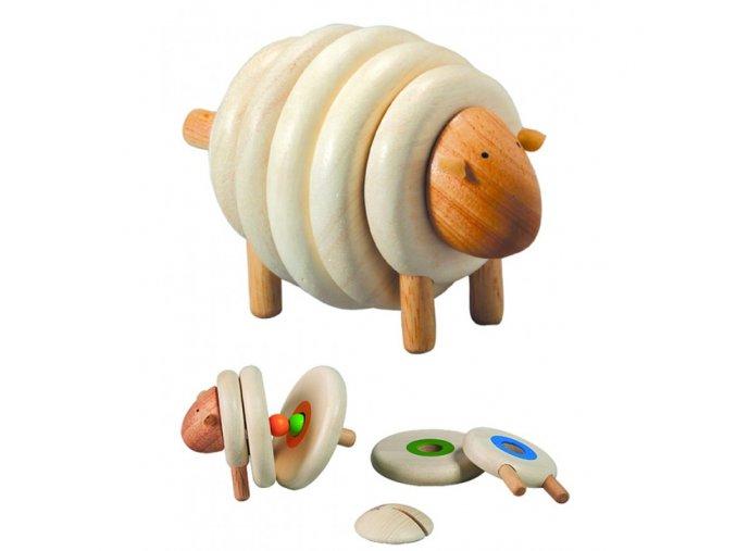 Plan Toys - Navlékací ovce