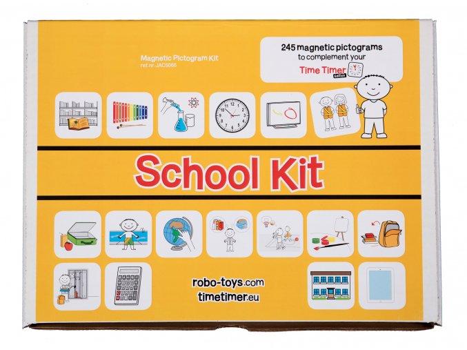 Školní set, magnetické piktogramy / School Kit, Magnetic Pictograms