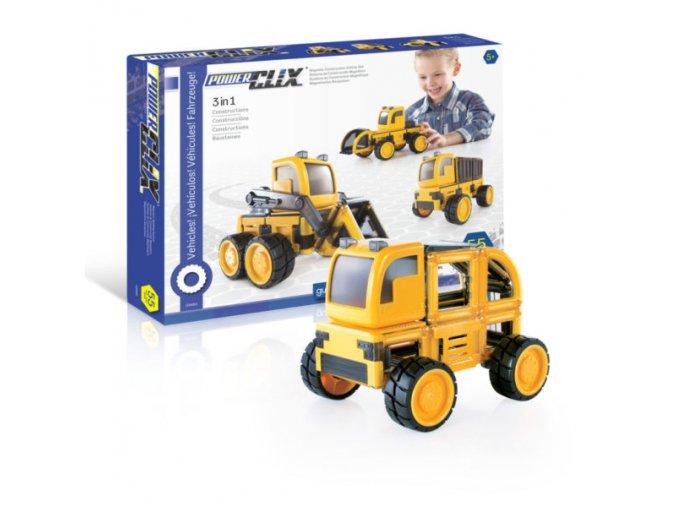 PowerClix® Construction Vehicles Set