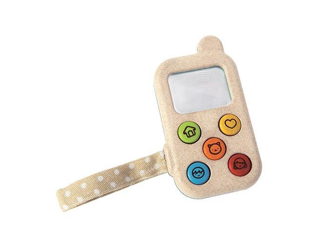 Plan Toys - Můj první telefon