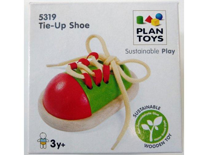 Plan Toys - Šněrovací bota
