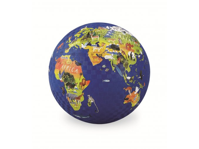 9887 play ball 18 cm mapa sveta world
