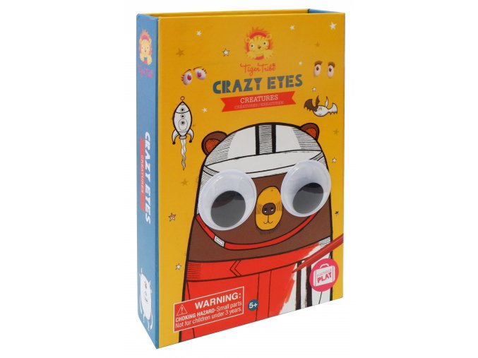 Tvořivá sada - Bláznivé oči - Příšerky / Crazy Eyes - Creatures