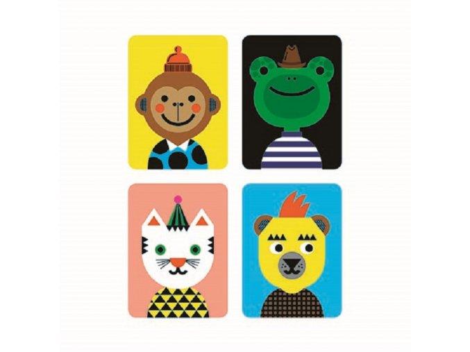 Magnetická plechovka - Vytvoř obličej / Magnetic Tins - Make-a-Face