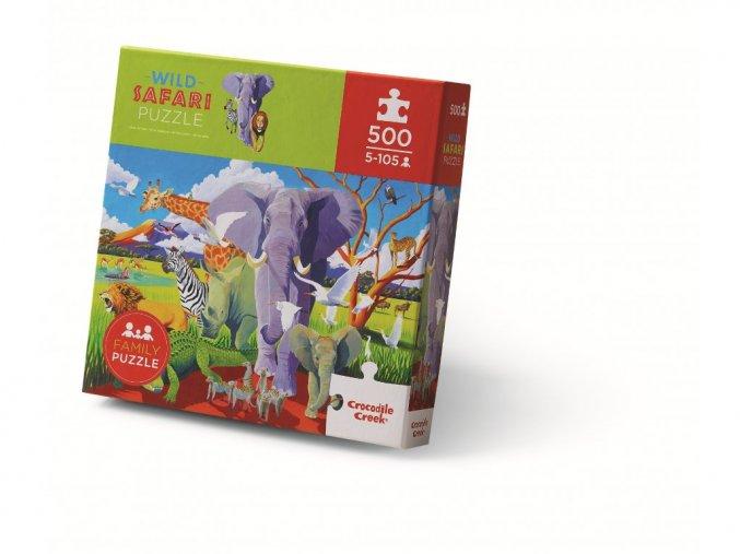 Puzzle Divoké safari (500 ks) / Puzzle Wild Safari (500 pc)