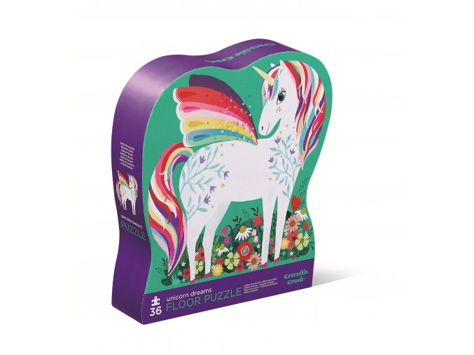 Puzzle - Sny jednorožce (36 ks) / Shaped Puzzle - Unicorn Dreams (36 pc)