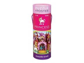 Puzzle a plakát Princess