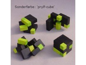 Puzzle kostky - 6x6 - černo-zelené