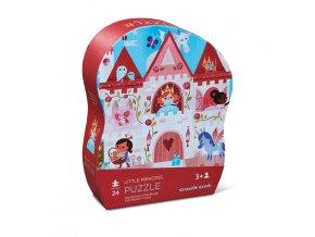 Mini puzzle II - malá princezna (24 dílků)