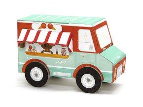 Poskládej si auto - zmrzlinář