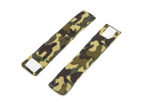 10655 weighted wristbands camouflage