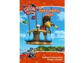 Horkovzdušný balon- kniha Statečná autíčka