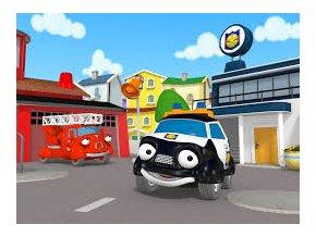Policejní auto Pavlík - kniha Statečná autíčka
