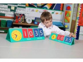 Flip chart na učení hodin - 1 ks