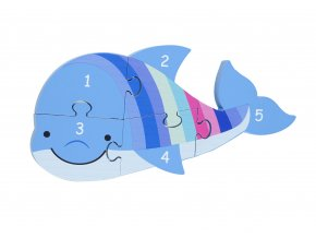 NUMBER PUZZLE DOLPHIN