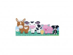 Puzzle abeceda - Farma / Alphabet Puzzle - Farm Animals