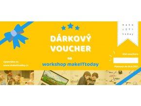 Voucher na workshop: TVORBA MODERNÍHO WEBU PRO ZAČÁTEČNÍKY