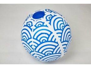 Nafukovací míč modrobílý (vlny)