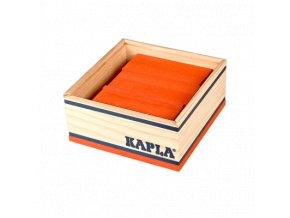 Kapla monocolor sada 40 oranžová