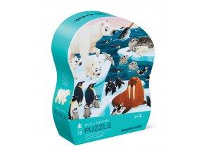 Puzzle - Arktické zvířata (72 ks) / Puzzle Arctic Animals (72 pc)
