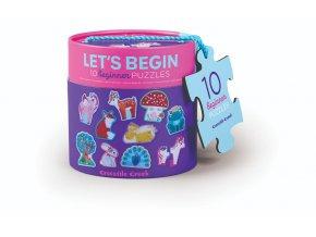 První puzzle - Jednorožec (20 ks) / Let's Begin Puzzle Unicorn (20 pc)