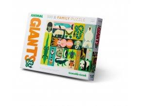 Rodinné puzzle - Zvířecí obři (500 ks) / Family Puzzle Animal Giants (500 pc)
