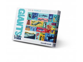 Rodinné puzzle - Obři moře (500 ks) / Family Puzzle Giants of the Sea (500 pc)