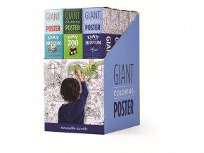 Velký plakát na vybarvování - Žraločí útes / Giant Coloring Poster - Shark Reef