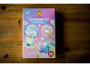 Pastel Colouring Set / kavárna Kawai