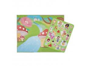 Movable Playbook - Pohádkové království / Movable Playbook Fairy Kingdom